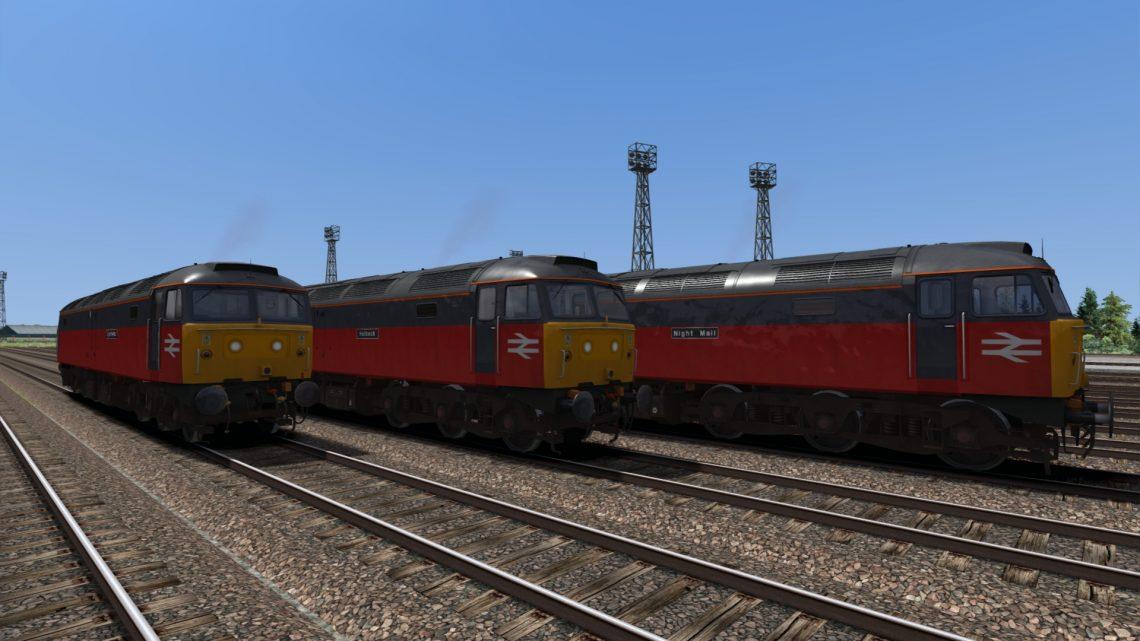 Backdated Trainsim BR Parcels Class 47/4 Pack Sound Patch