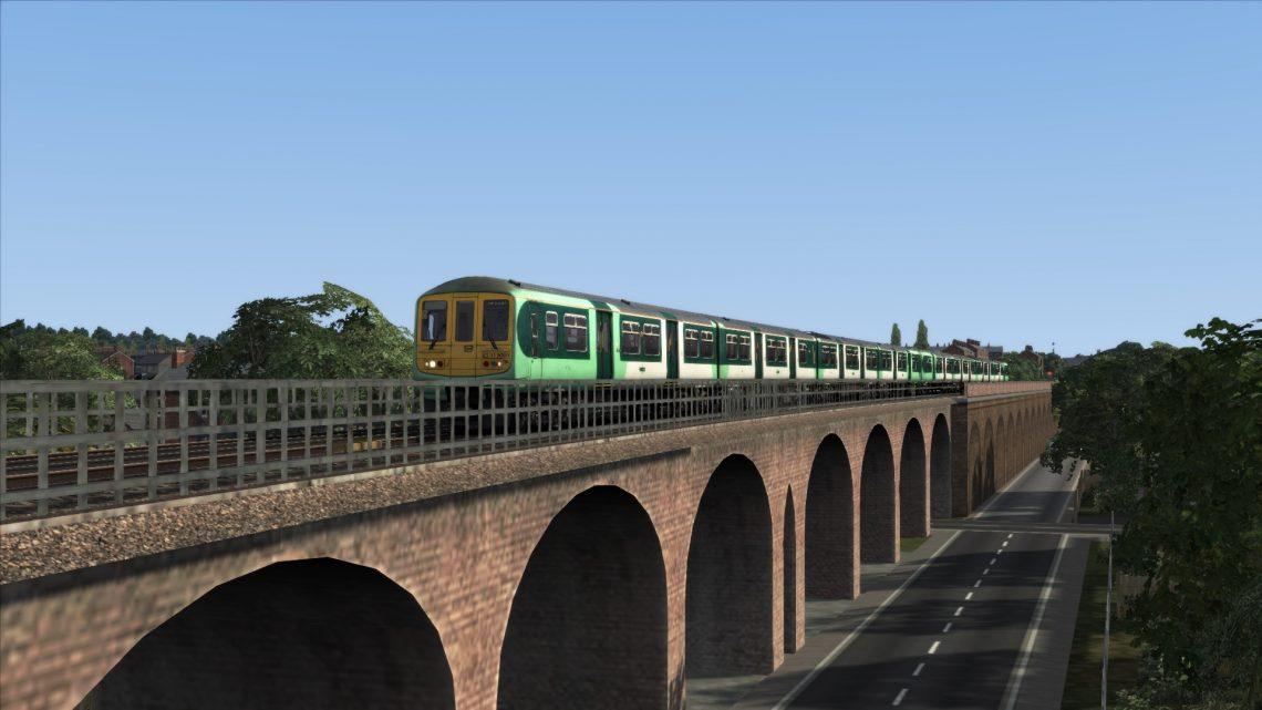 2J77 0747 London Bridge to West Croydon