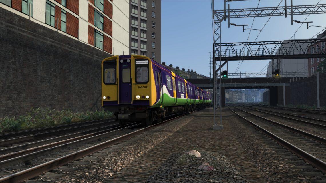 2D94 0717 London Euston to Watford Junction DC
