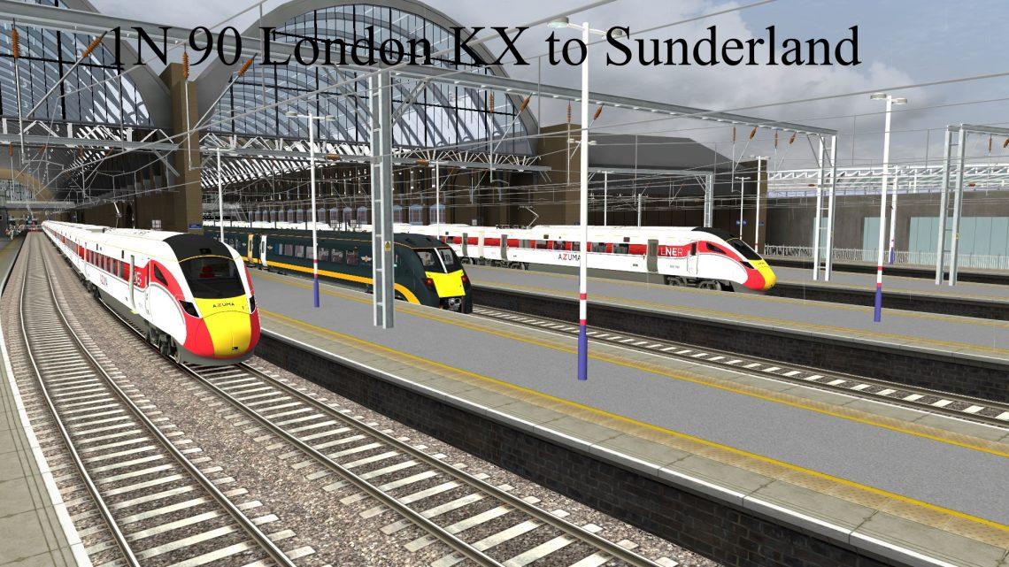 1N90 London Kings Cross to Sunderland