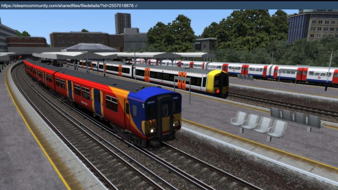 2C34 11:42 Reading to London Waterloo AP450 or AP455
