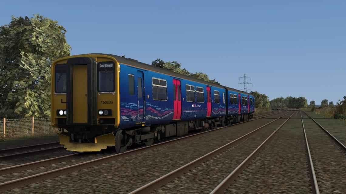 2U08 08:41 Weston-super-Mare – Cardiff Central (2012)