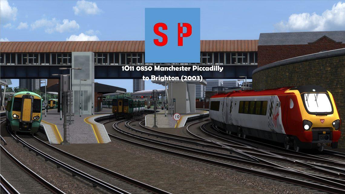 1O11 0850 Manchester Piccadilly to Brighton (2003) v2