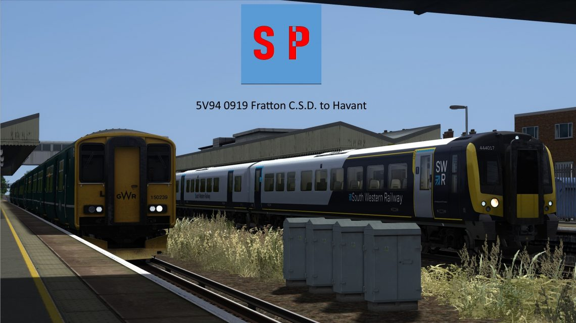 5V94 0919 Fratton C.S.D. to Havant