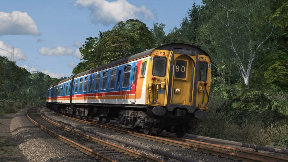 1G23 17:20 Waterloo to Portsmouth Harbour