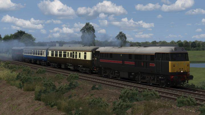 2N11 12:50 Bletchley to Bedford Midland (1999)