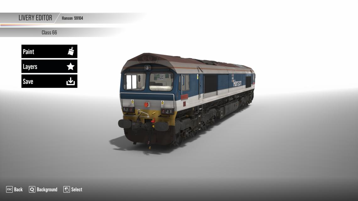 Hanson Class 59 Reskin for ECW Class 66