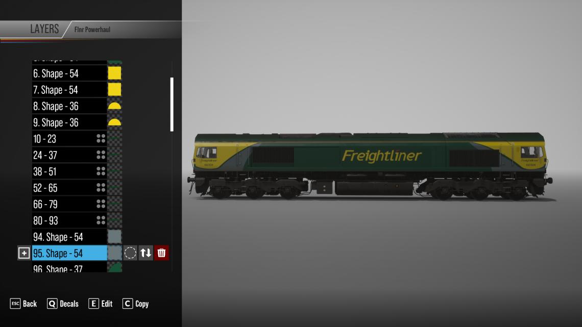 Freightliner Power Haul Class 66