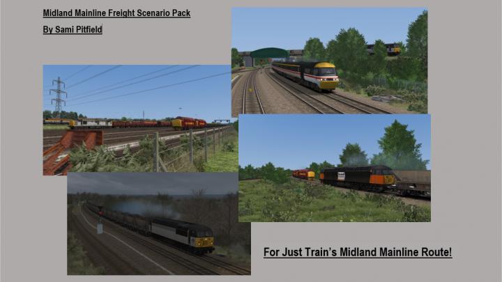 SP: Mini Midland Mainline Freight Scenario Pack