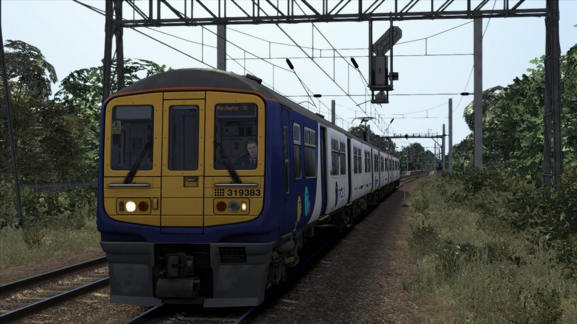 (AT) 2J93- 17:17 Liverpool Lime Street to Manchester Victoria