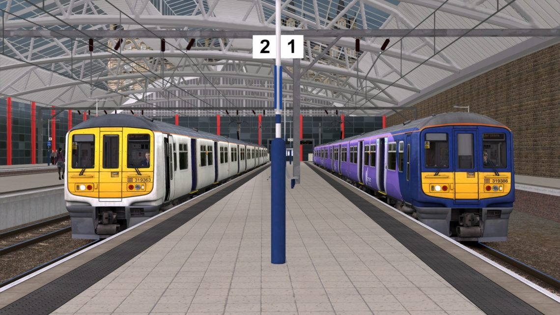 1H41 1516 Liverpool Lime Street to Manchester Airport