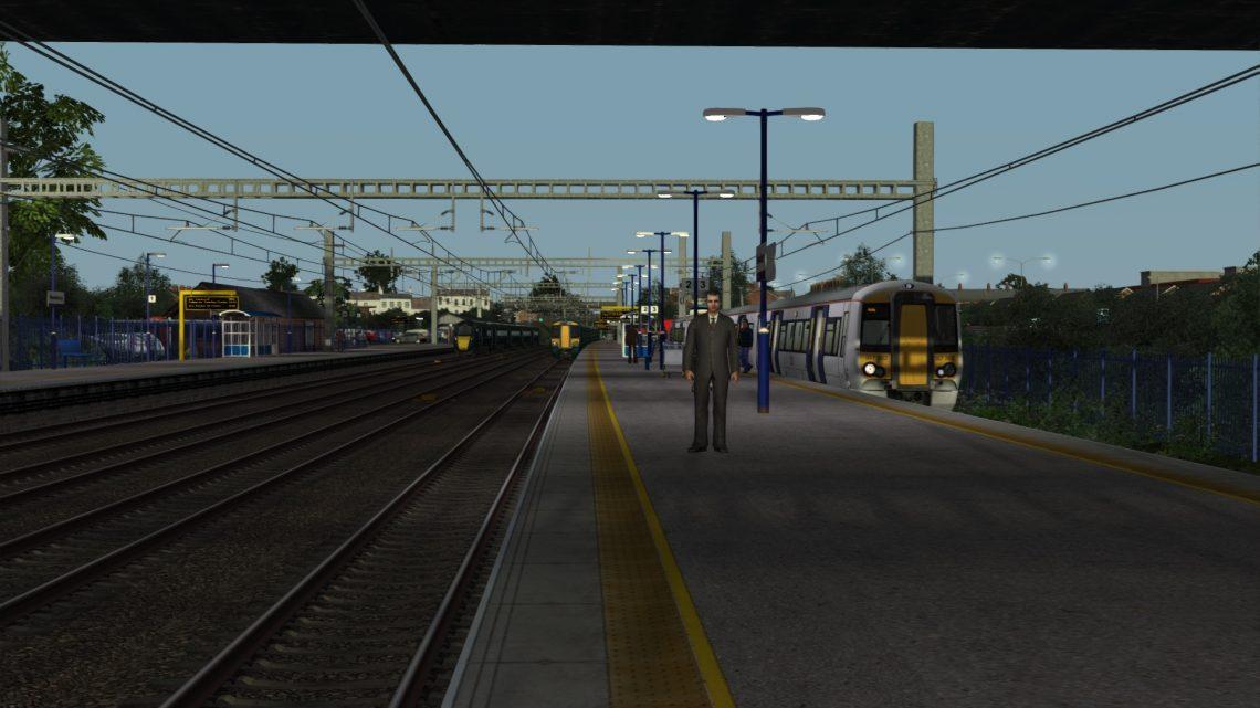 3K19 0457 Reading Traincare Depot to Newbury