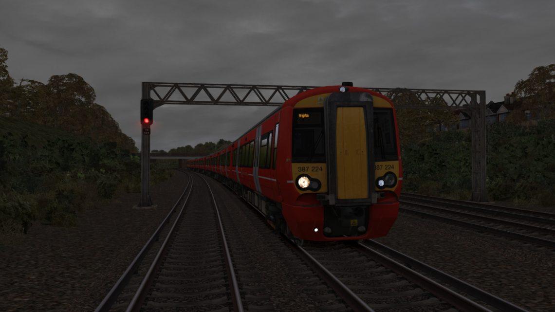 1W29 1029 London Victoria to Brighton