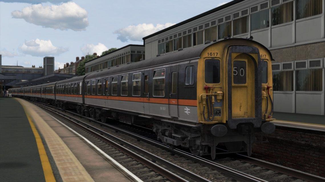 1S46 1550 London Victoria to Ramsgate