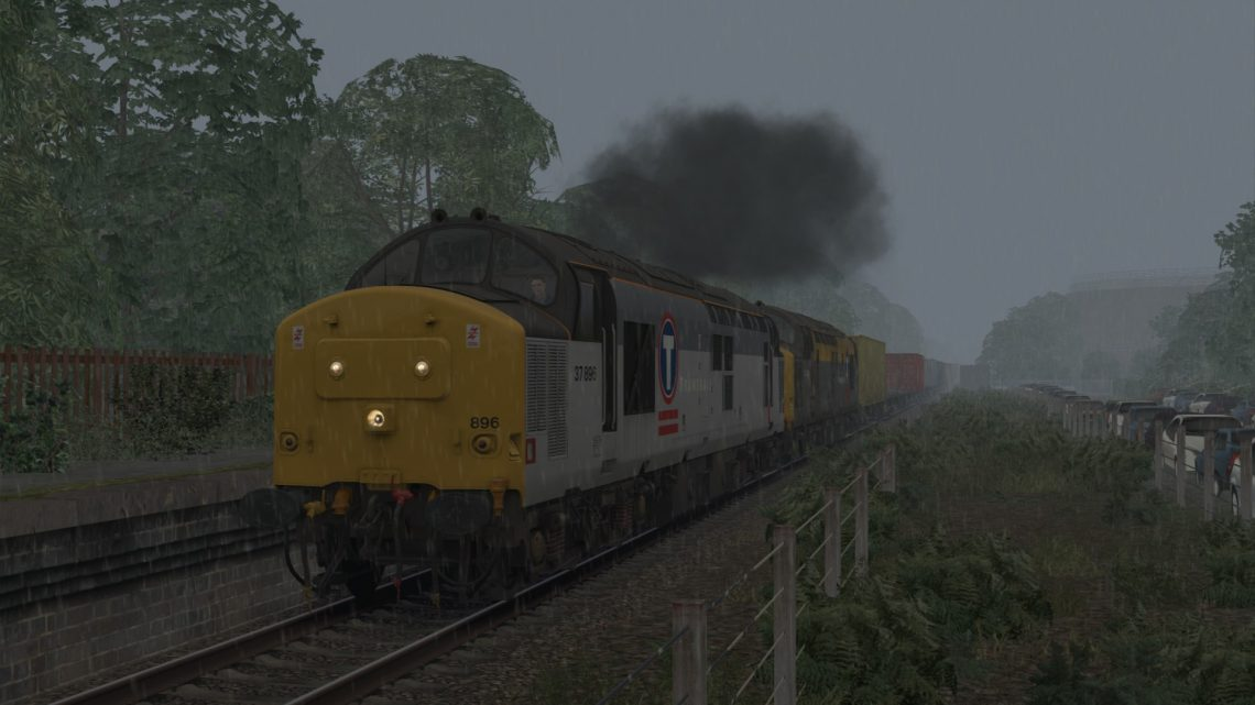 4V87 1820 Felixstowe South FLT to Pengam FLT