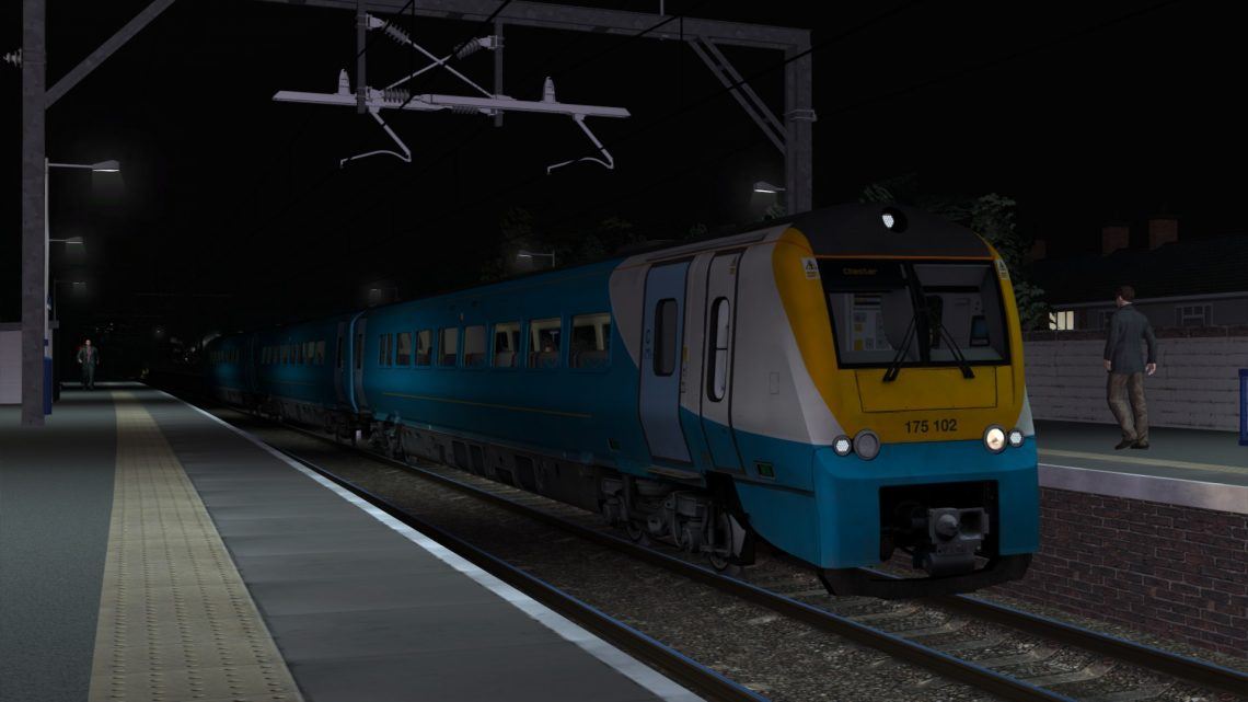 1D48 2314 Manchester Piccadilly to Chester
