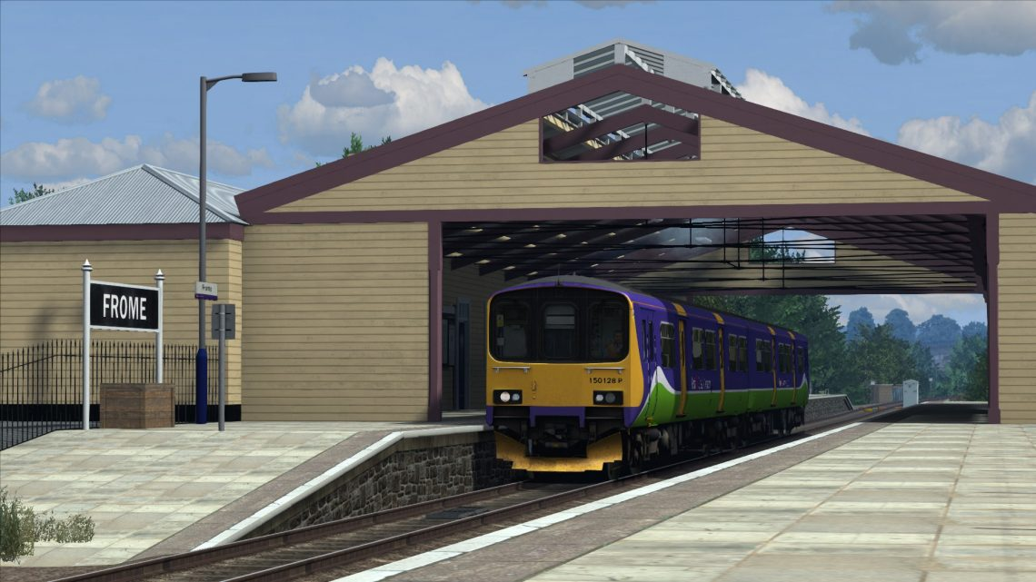 2O72 07:07 Worcester Shrub Hill to Weymouth