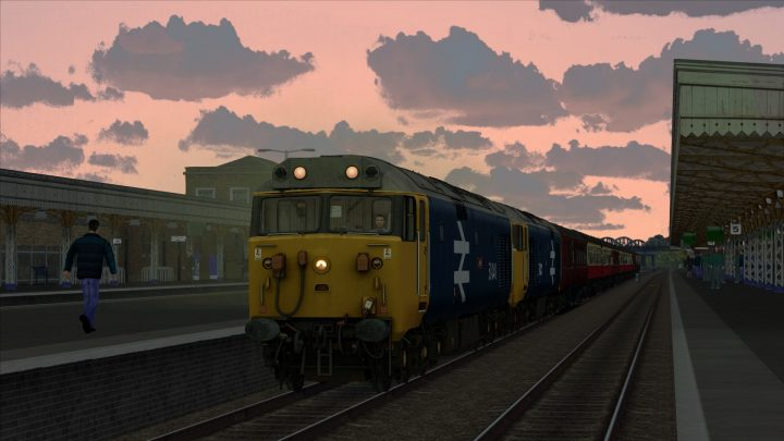 "1Z30 16:15 Kingswear to Northampton ""The Devonshire Riviera Express"""