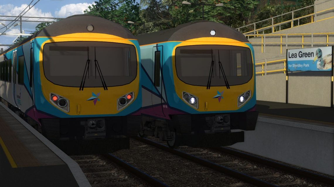 1Z07 7:03 Liverpool Lime Street-Manchester Airport