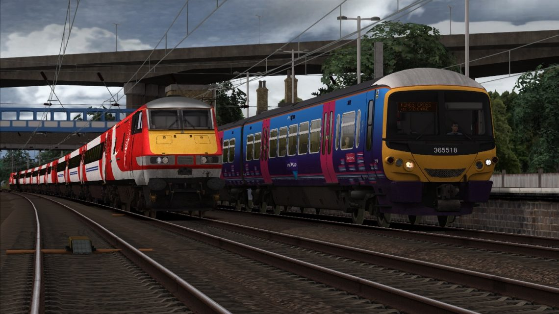 1P75 17:54 Peterborough to London Kings Cross
