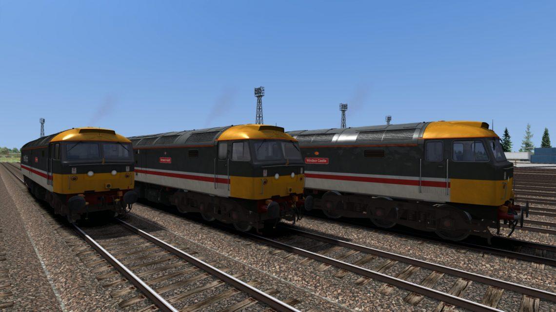 Backdated Trainsim BR Intercity Original Class 47/8 Pack Sound Patch