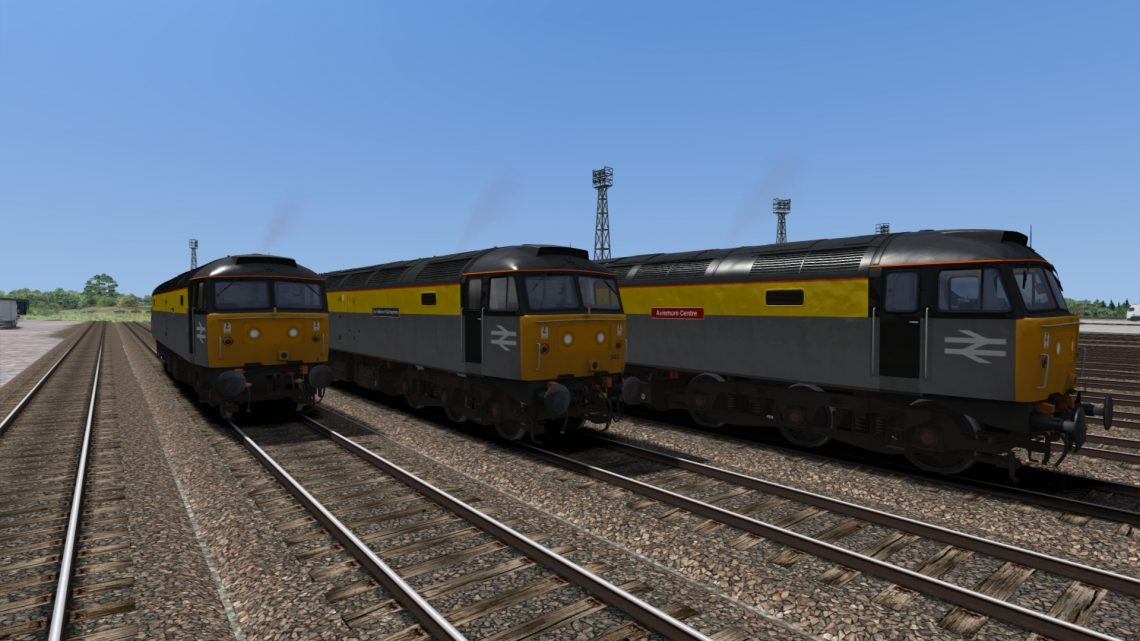Backdated Trainsim BR Civil Engineers Dutch Class 47 Pack Sound Patch