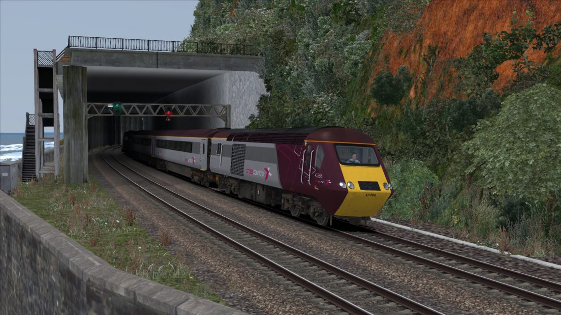 1S51 0925 Penzance to Edinburgh Diverted