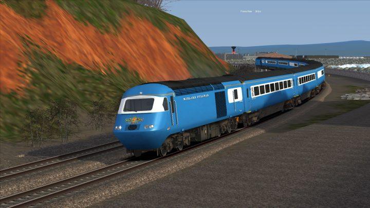 1Z60 0600 Eastleigh to Penzance LSL HST Part 2