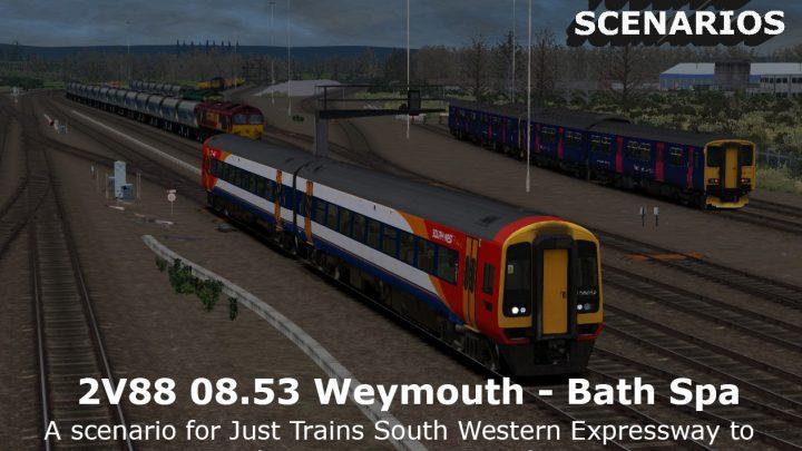 [JU] 2V88 0853 Weymouth – Bath Spa