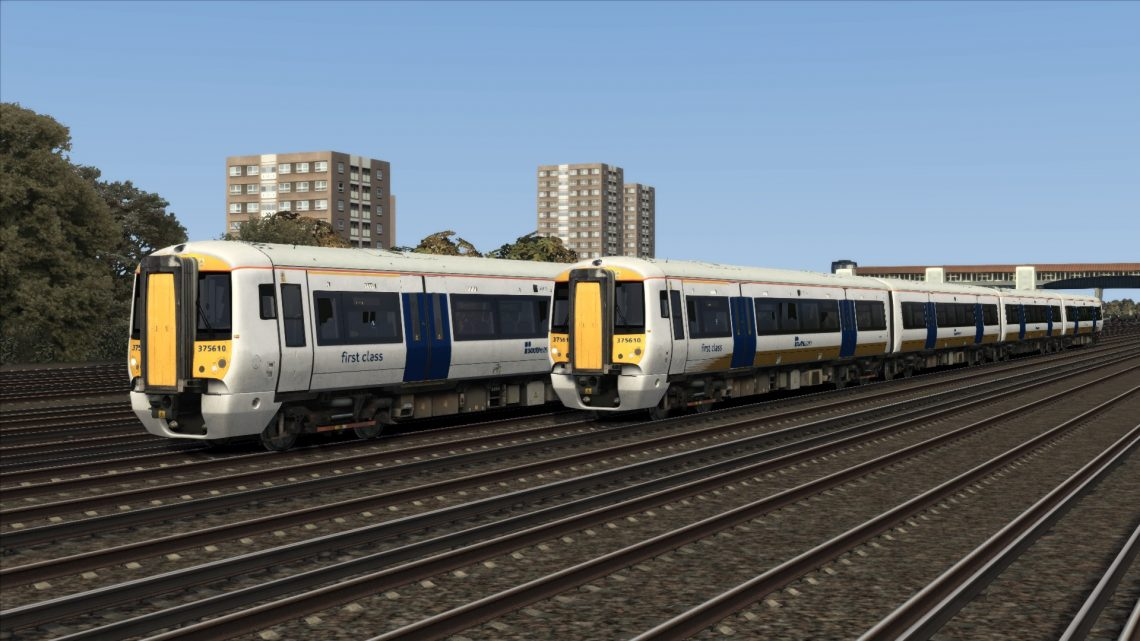 Class 375 '610' Blue & Goldstripe