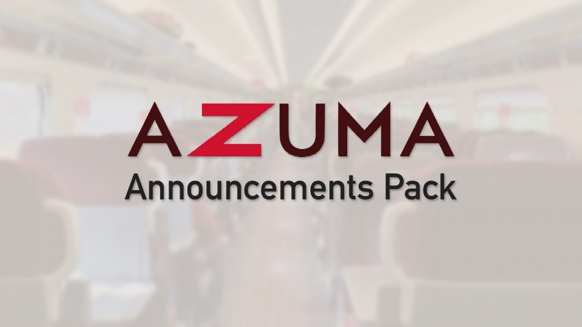 LNER Azuma Announcements Pack