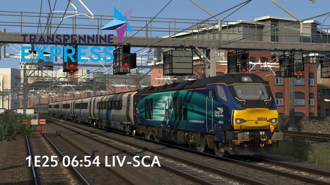 1E25 06:54 Liverpool Lime Street- Scarborough