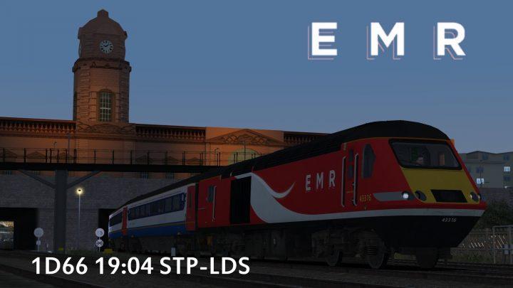 1D66 19:04 London St Pancras-Leeds