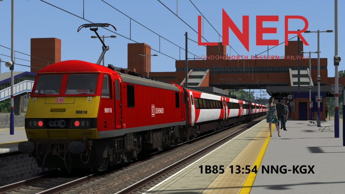 1B85 13:54 Newark North Gate-London King's Cross (Subscription Only)