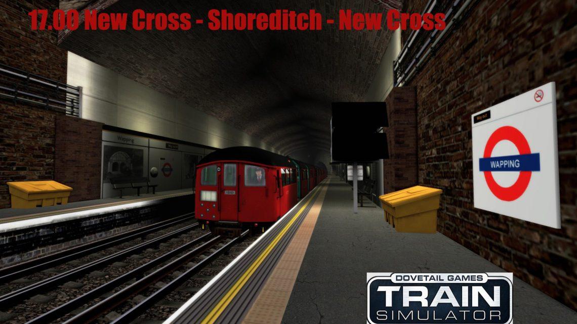 17.00 New Cross – Shoreditch – New Cross Class 483 (LU East London Line)