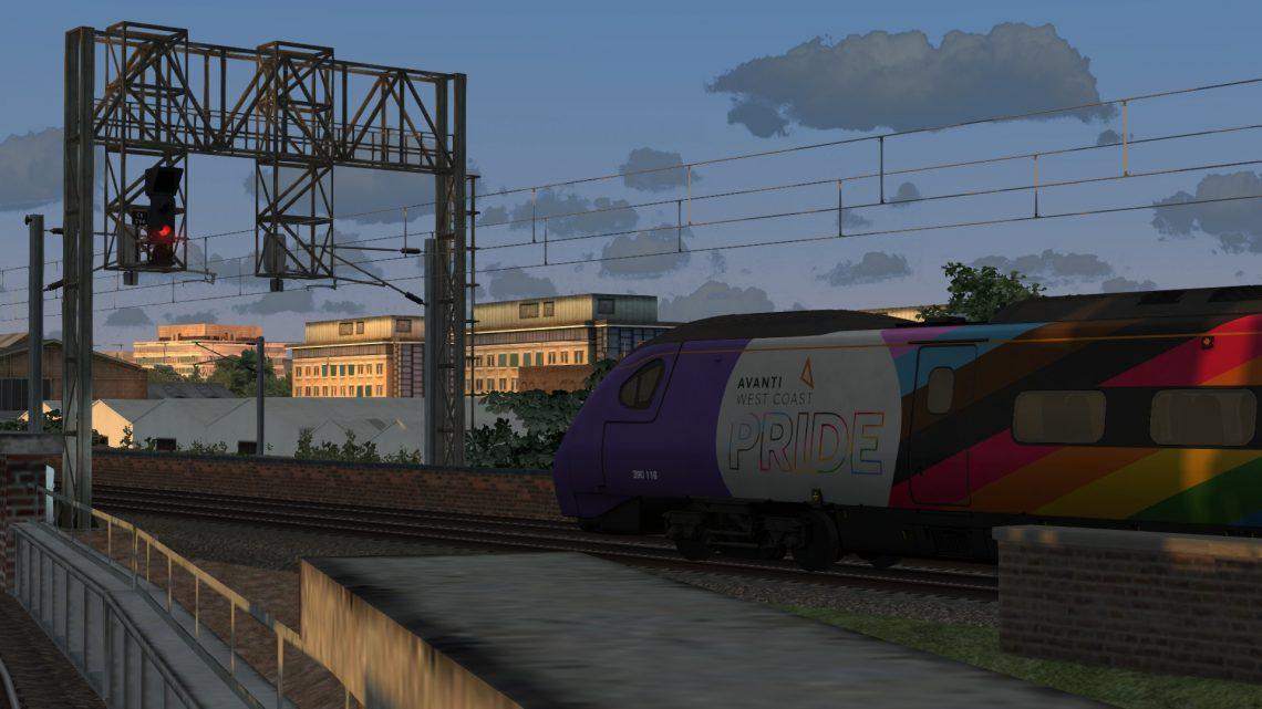5S87 1916 Preston to Glasgow Central