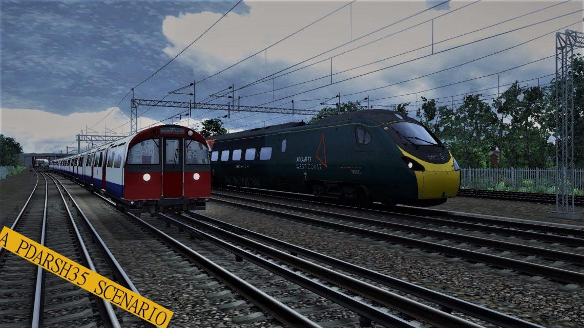 Avanti 'Gap Filler' 1F23 Stafford – London Euston