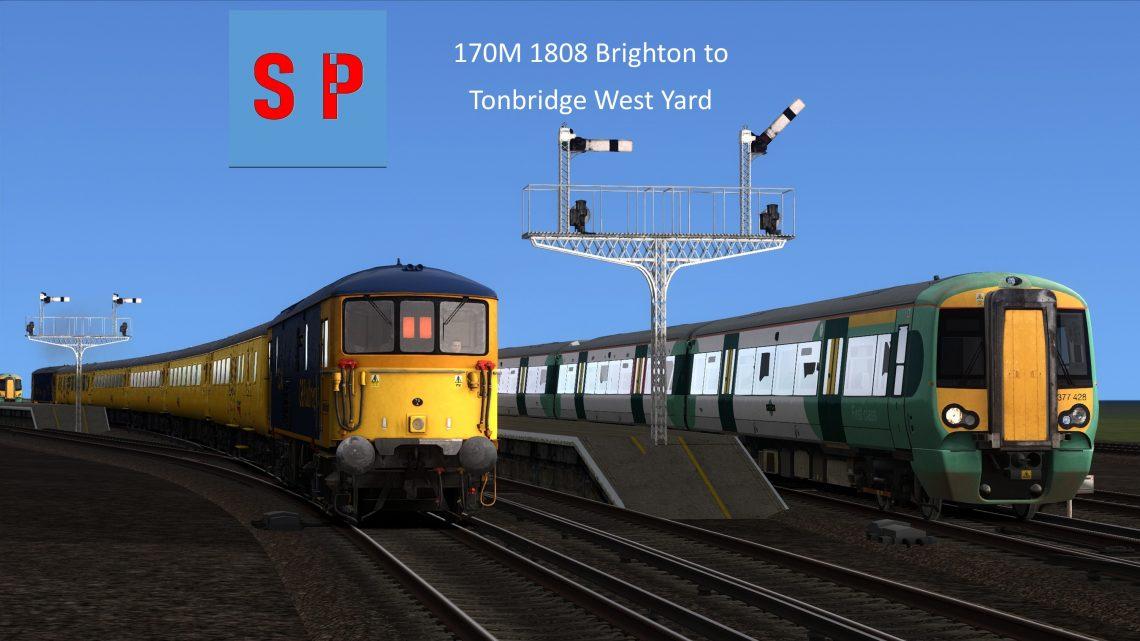 170M 1808 Brighton to Tonbridge West Yard