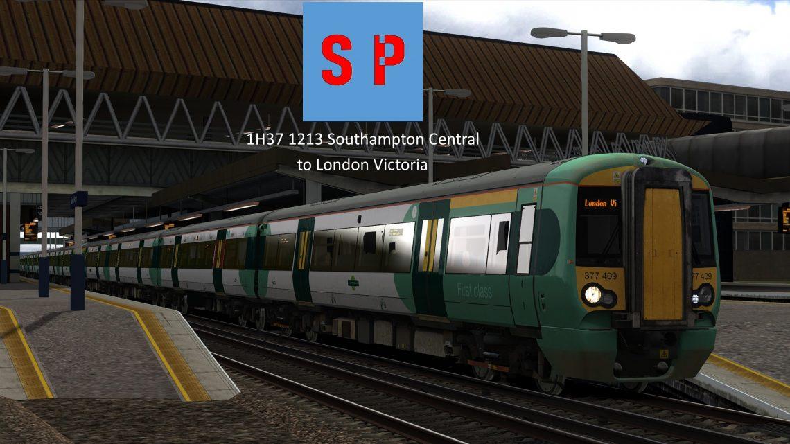 1H37 1213 Southampton Central to London Victoria [Full Run]