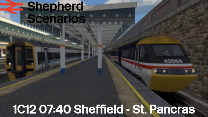 SS / 1C12 07:40 Sheffield – St. Pancras