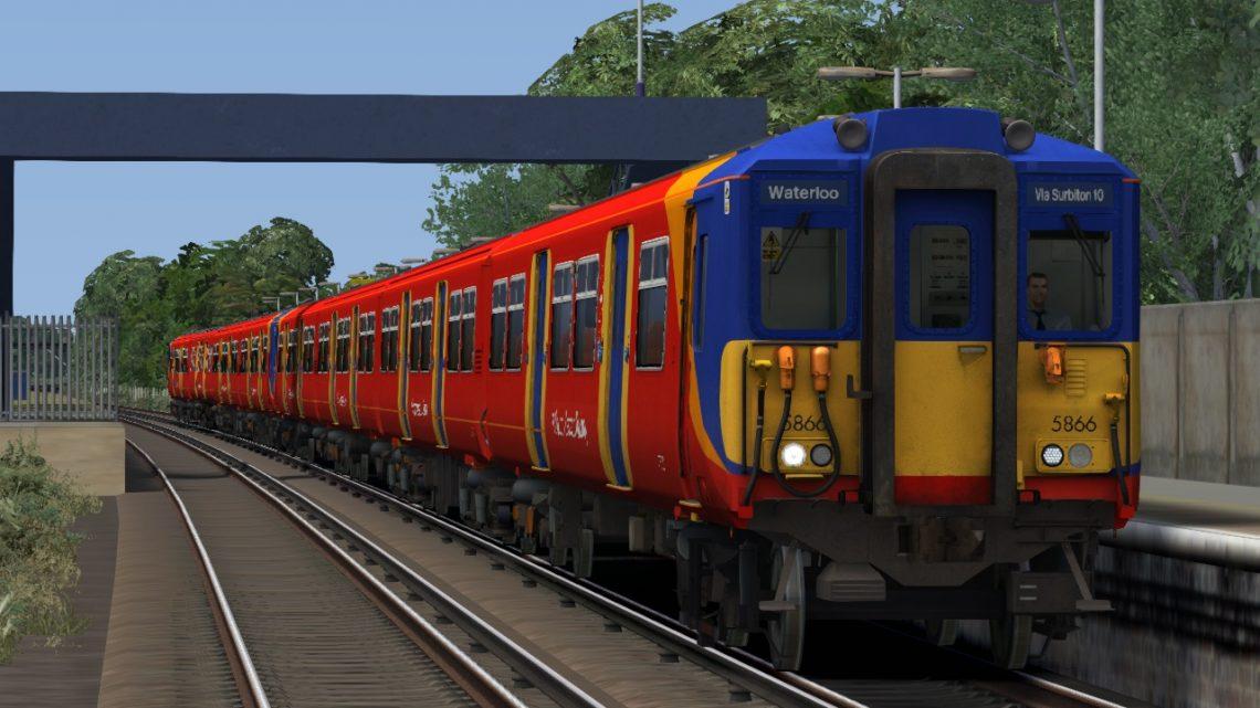 (FGN) 2F24 10:03 Woking – London Waterloo