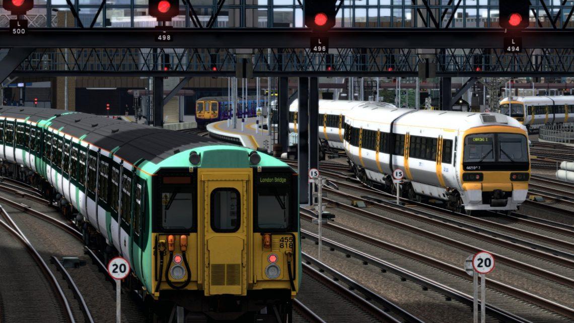 1P42 15:20 Caterham to London Bridge (2012)