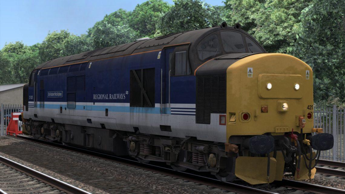 (Installation Fix) Class 37 (425): BR Regional Railways (Modern)