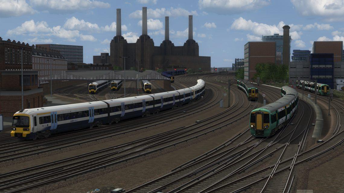 1R13 08:36 Reigate to London Victoria (2021)