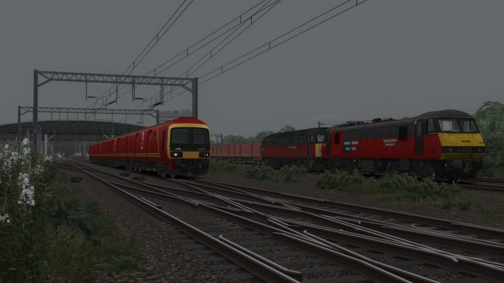 5O04 11:35 Willesden R.M.T. to Tonbridge (2001)