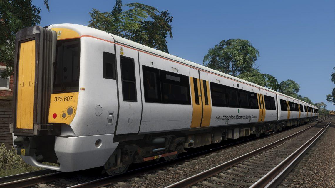 Class 375 ADtranz test livery