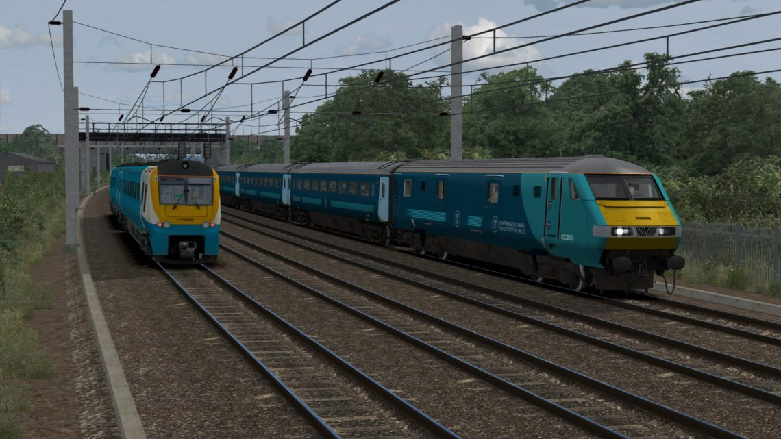 1H89 1307 Holyhead to Manchester Piccadilly