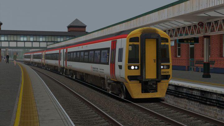 1D95 1623 Llandudno Junction to Chester