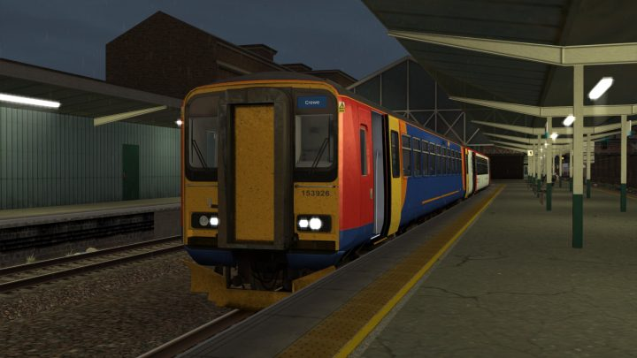 1K18 2054 Chester to Crewe