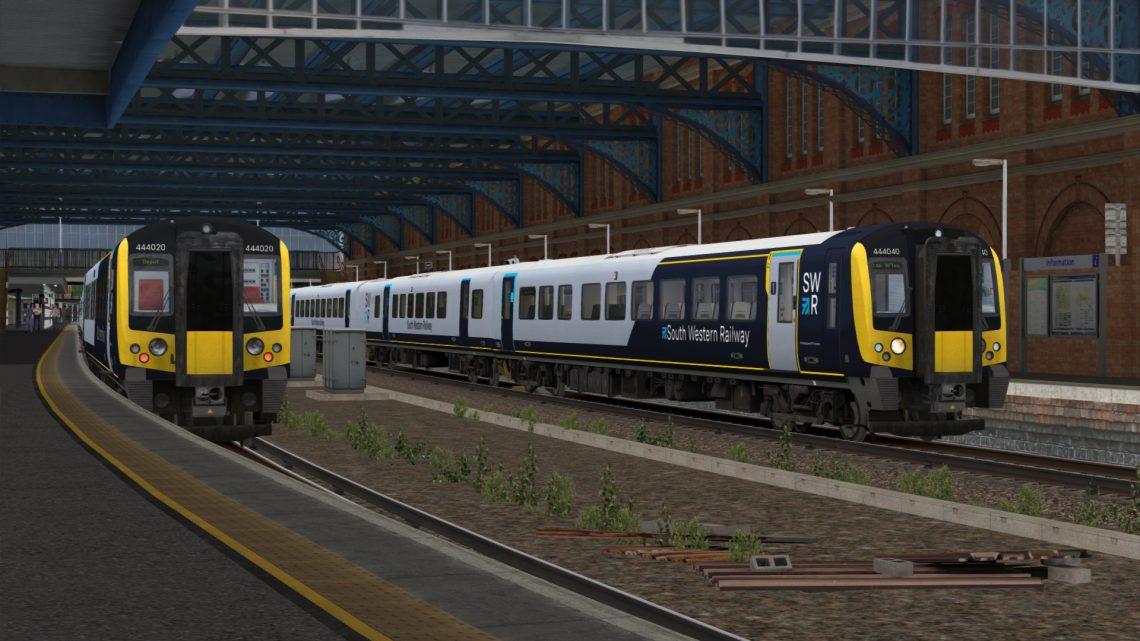 SP: 1Z68 17:22 Bournemouth – London Waterloo
